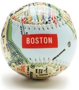 Boston - City Map Baseball