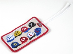 Play Ball Hats Bag Tag -- The Sean Kane Collection