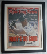 "Frank Thomas autographed ""Sporting News"""