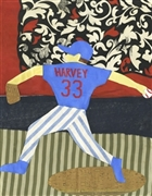 """Matt Harvey"" by artists Eva LeWitt & Elissa Goldstone"