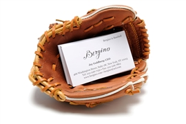 Mini-Glove Business Card Holder