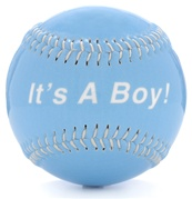 It's A Boy! Baseball