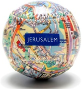 Jerusalem - City Map Baseball