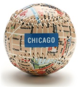 Chicago - City Map Baseball