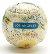Los Angeles - City Map Baseball