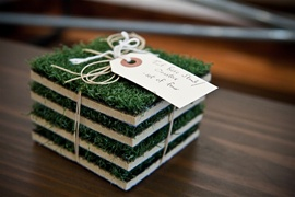 Turf Base Stand/Coasters