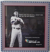 Derek Jeter advertisement for USA Baseball