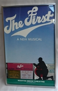 """The First"" original Broadway poster"